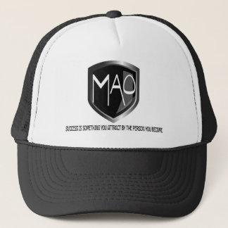 成功の引用文の毛の帽子 キャップ