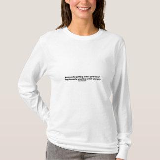 成功の引用文 Tシャツ