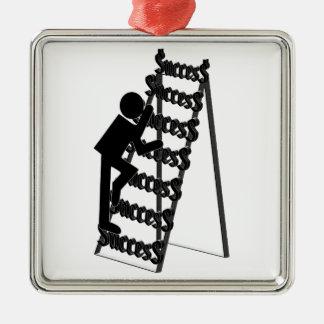成功の梯子の上昇 メタルオーナメント