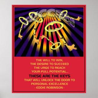 成功の鍵 ポスター