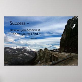 成功の…やる気を起こさせるなポスター ポスター