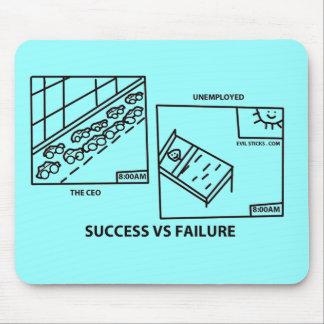 成功対失敗 マウスパッド