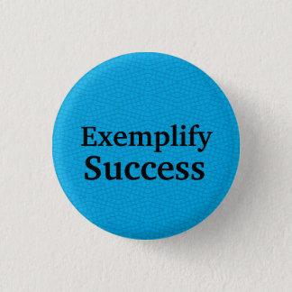 """""""成功""""のテンプレートのやる気を起こさせるなボタン例証して下さい 缶バッジ"""