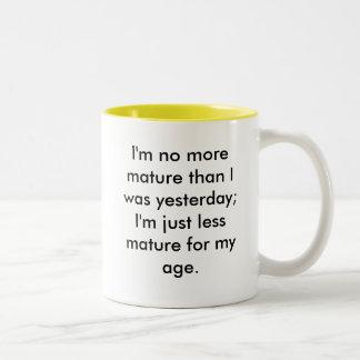成熟 ツートーンマグカップ