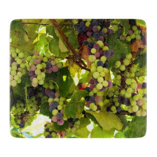 成長するワイン カッティングボード