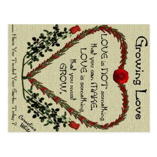 成長する愛 ポストカード