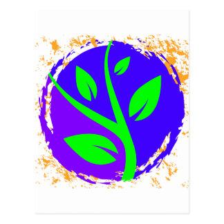 成長する木 ポストカード