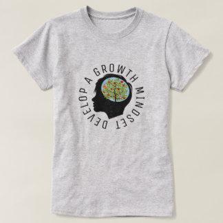 成長の考え方の教育の改良ライトを開発して下さい Tシャツ