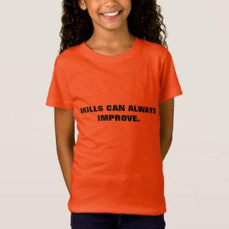 成長の考え方のTシャツ: 技術II Tシャツ