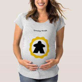 成長のMeeple マタニティTシャツ
