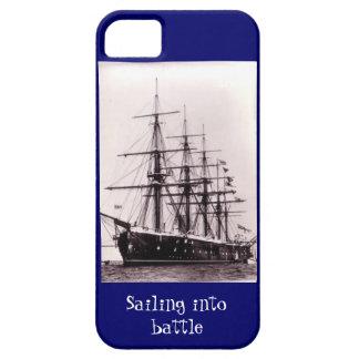 戦いに航海します、HMS Agincourt 1865年 iPhone SE/5/5s ケース