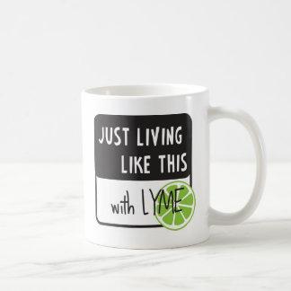 戦いのライム病 コーヒーマグカップ