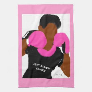 戦いの乳癌の    台所タオル、16x24 キッチンタオル