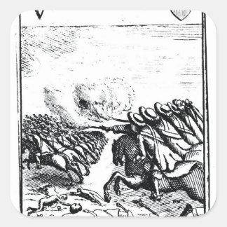 戦いの反逆者の1000年の敗走の スクエアシール