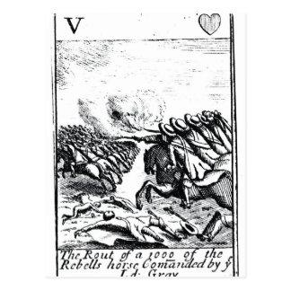 戦いの反逆者の1000年の敗走の ポストカード