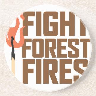 戦いの森林火災 コースター