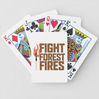 戦いの森林火災 バイスクルトランプ
