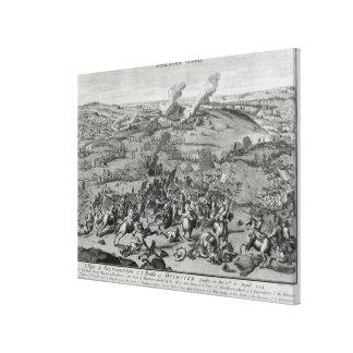 戦いの概観そして表示の キャンバスプリント