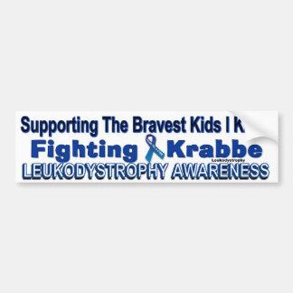 戦いの_KRABBEの認識度のバンパーステッカーを支えて下さい バンパーステッカー