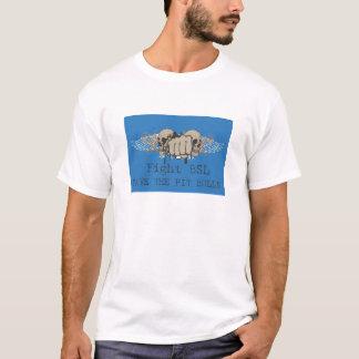 戦いのbsl -ピット・ブルの破壊されたティーを救って下さい tシャツ