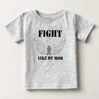 戦いは私のお母さんを好みます ベビーTシャツ