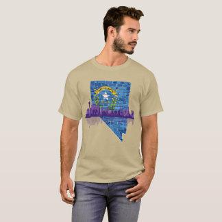 戦い生まれるネバダ(ラスベガス) Tシャツ