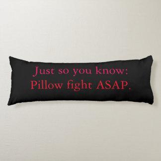 「戦い」の綿の抱き枕 ボディピロー