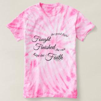 戦った終了する保たれた信頼のTシャツ Tシャツ