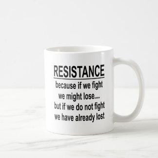 戦わなければ私達は既に失った コーヒーマグカップ