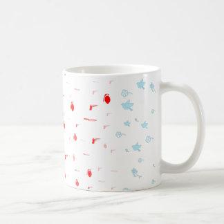 戦争か平和 コーヒーマグカップ