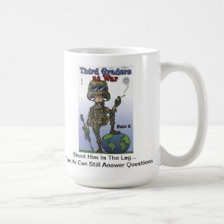 戦争のマグの第3グレーダー コーヒーマグカップ