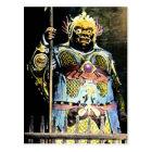 戦争のヴィンテージのBishamonの日本のな神 ポストカード