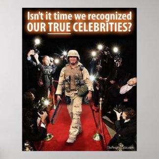 戦争の本当の有名人9/11の: 抗議ポスター ポスター