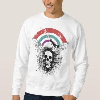戦争の自然のベクトル芸術のデザイン スウェットシャツ