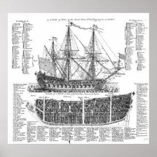 戦争の船 ポスター