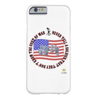 戦争の費用 BARELY THERE iPhone 6 ケース