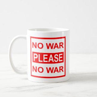 戦争の-コーヒー・マグ無し コーヒーマグカップ