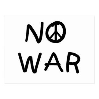 戦争のTシャツおよびギフト無し ポストカード