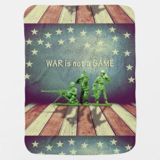 戦争はゲームのベビーブランケットではないです ベビー ブランケット