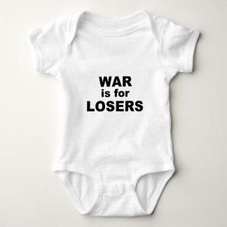 戦争は敗者のためです ベビーボディスーツ