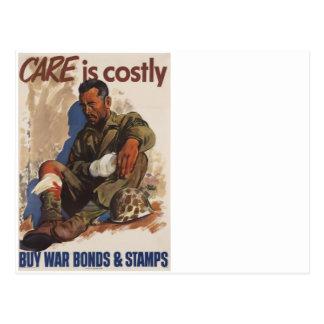 戦争は高価なWWIIです ポストカード