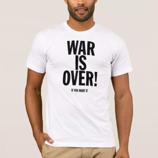 戦争は(それがほしいと思えば)にあります Tシャツ