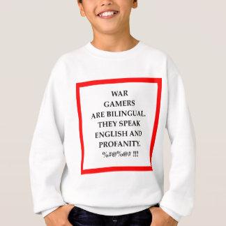 戦争ゲーム スウェットシャツ