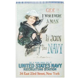 戦争ポスターカレンダー2013年の女性 カレンダー