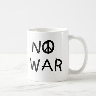 戦争無し コーヒーマグカップ