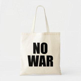 戦争無し トートバッグ