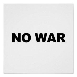 戦争無し ポスター