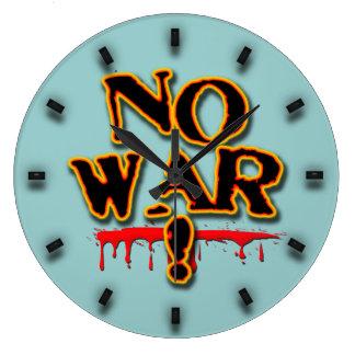 戦争無し! ラージ壁時計