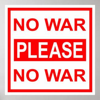 戦争-ポスター無し ポスター