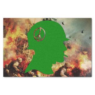 戦争: 死及び破壊 薄葉紙